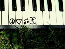 Peace, Love, Music, Above. by Emiry214