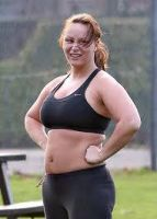 Chanelle Hayes workout by montyisfat