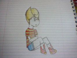 ITS A LUCAS DRAWING by Lucaslover89
