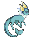 Vaporeon by nirac