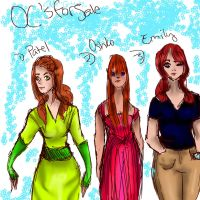 OC's For SALE by pookalook