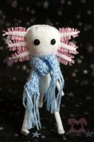 Axolotl Doll 1 by quirkandbramble