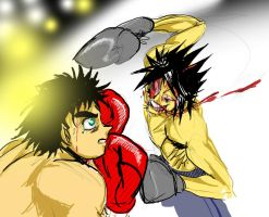 Ippo's last fight Vs Asi by yujiandhisboa