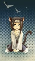 Kitty Shippuden Neji by Radittz