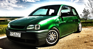 My Seat Arosa 6H - Photoshop by floxx001