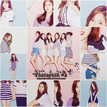 [SHARE FREE] PHOTOPACK #3: G-Friend by nho1711