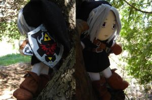 Dark Link Plush by Eightohsixtythird