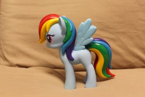 Design-A-Pony: Rainbow Dash (fixed) opposite side. by DerpyMadness