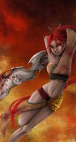 Heavenly Sword- Nariko by Flamestaff
