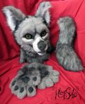 Rie Fursuit Partial by Kloofcat