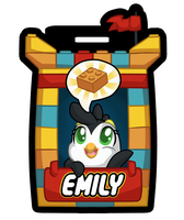 Lego Badge! (Commissions available) by OEmilyThePenguinO