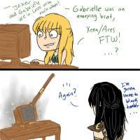 R1- Gabby and the internet by dashyice