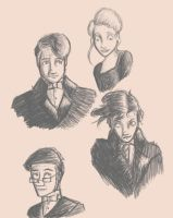 Dr. Jekyll and Mr. Hyde characters by sahadlich90
