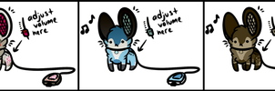 Portable Mouse Speaker Auction (CLOSED!!) by Vexlovely