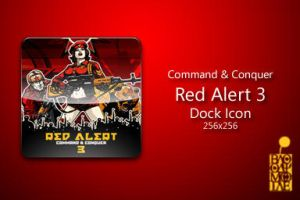 Red Alert 3 Dock Icon by BloodyMoogle