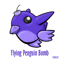 Flying Penguin Bomb by Terriermon
