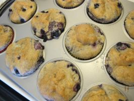 Gluten-Free Wild Blueberry Muffins 3 by Windthin
