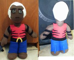 Aqualad Plush (Young Justice: Season 1) by nenfere