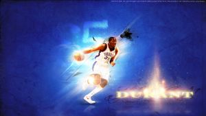 Kevin Durant # 35 OKC Thunder Wallpaper HD by Givens87