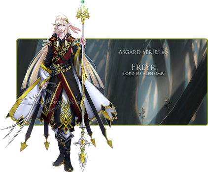 [CLOSED] Freyr (now includes chibi :D) by Archaedia
