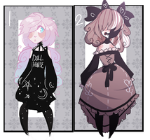 Adoptable Batch 1 (1/2) OPEN by Claw-kit