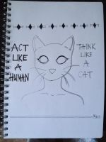 act like a human, think like a cat by acrocynical