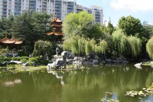 Chinese gardens 127 by fa-stock