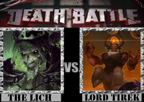 The Lich VS. Lord Tirek by Grimmjow-thesexta