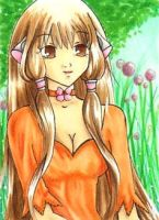 Aceo 047 Chii from Chobits by Alcea-art