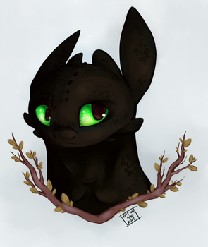 Toothless by NightKasel