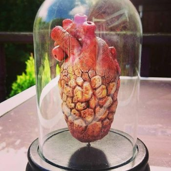 Anatomical Heart of The Thing from Fantastic Four  by MarcMacabre