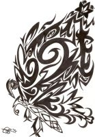 Butterfly Tribal by Chrisszilla
