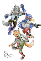 Starfox Brawlers by Kanis-Major