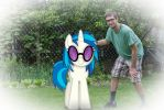 Portrait with Vinyl Scratch (a.k.a. DJ Pon-3) by JonnySel007