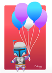 Jango Fett Birthday Card by MahiyanaCarudla
