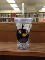 Angry Bird cup by Blackwind06