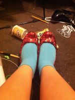 Ruby Slippers for Luke Marcus by ArtistLucy