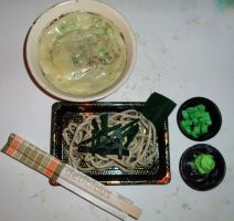 Soba: Fake Food Project by Apashi8