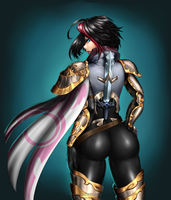Draw this again: Fiora League of Legends 2014 by hotbento