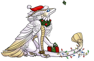 Xylare's Christmas by BeeZee-Art