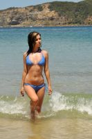 Lauren - blue bikini 2 by wildplaces