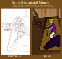 Before and After Meme by LannaMisho