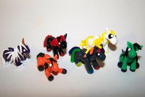 More Mini Ponies! by ByToothAndClaw