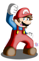 Super Mario World: Mario by AwsmYoshi