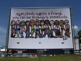 Embracing Our Differences Mural 3 by Dream-finder