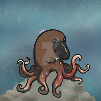 [Misc.] Ornithopoulpe/Octoplatypus by PokiPwet