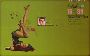 Rockabilly  Pin up Girl Desktop. by speedracker
