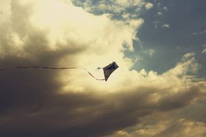 Fly away kite by RebecaJuditDESIGNS
