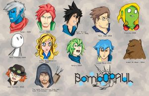 Chars of a lifetime by BombOPAUL