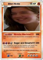 Ellen Hickle Pokemon Card by Amphitrite7